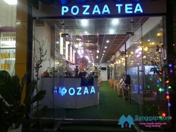 Sang nhượng quán cafe và trà sữa Đài Loan nằm khu dân cư đông đúc, trung tâm thành phố Biên Hòa.