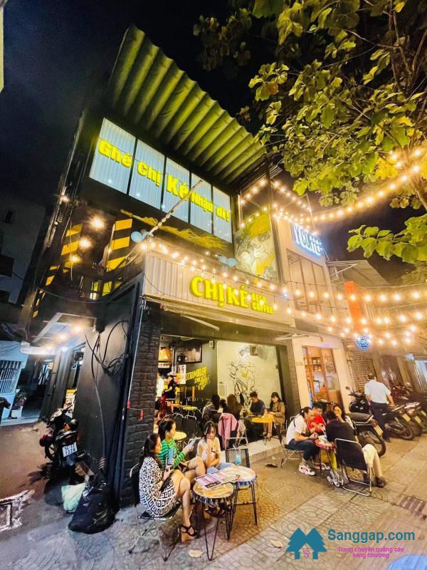 Cần sang nhanh quán nhậu kết hợp cafe nằm ngay mặt tiền đường Nguyễn Thị Minh Khai, phường Đa Kao, quận 1.